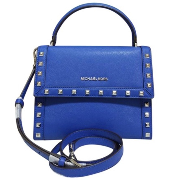 b60eb10c9a3f Michael Kors Bags | Dillon Electric Blue Messenger | Poshmark